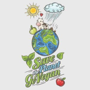 save planet go vegan