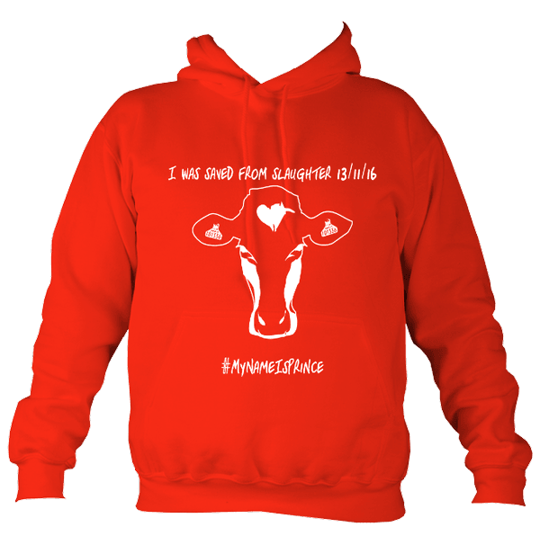 AWD College hoodie Fire red Prince NV