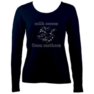 ladies long sleeve navy